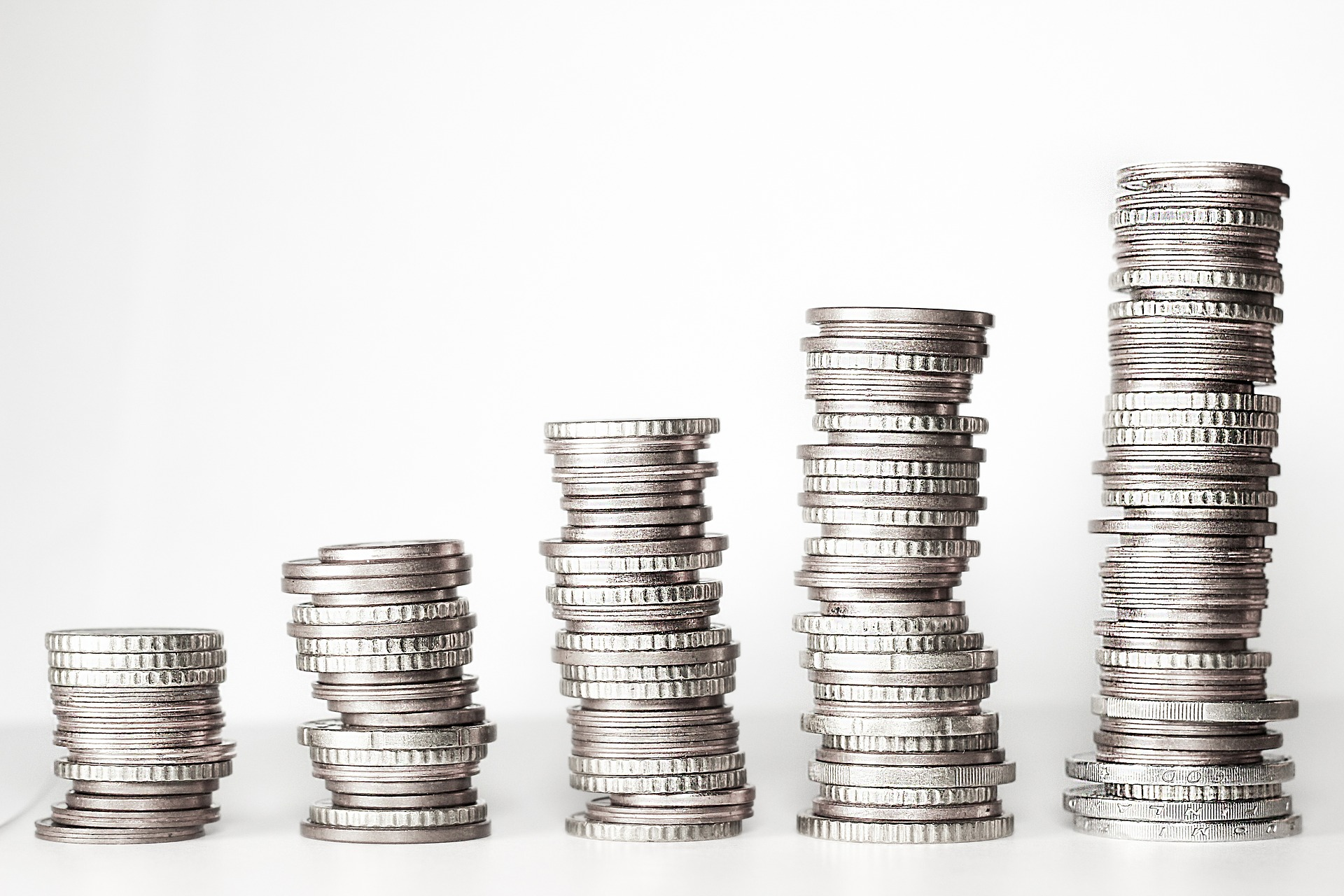 Image of stacks of coins
